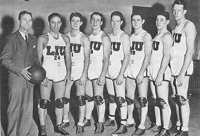 Long Island University Basketball Team